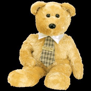 1 X TY Beanie Buddy - DAD-e the Bear - 1
