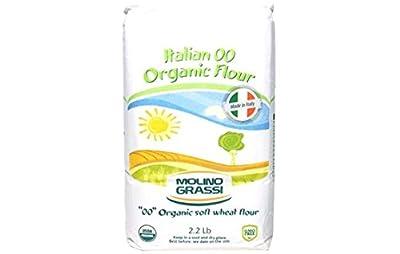 "Molino Grassi USDA Organic Italian ""00"" Soft Wheat Flour - 2.2 lb"