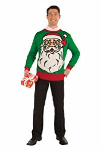 Funny Christmas Mug-- Christmas Sweater-- Ugly Christmas Sweater!!-- Christmas Costume-- Choose Your Style!! (Xlarge, Santa)