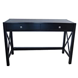 Antique Black Delano Amp Madison Large Trestle Desk From