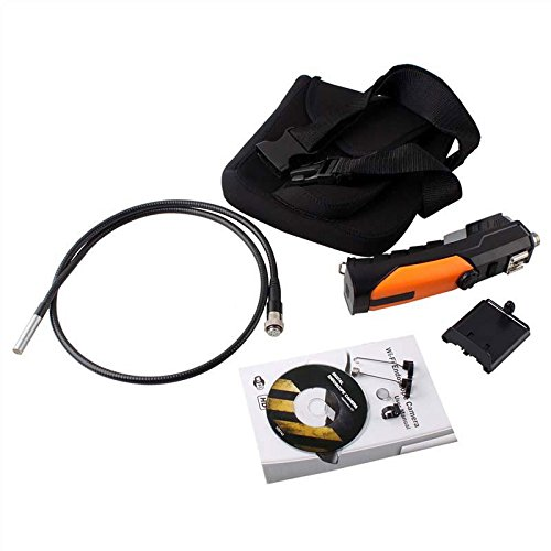Wireless Wifi Endoscope Video Inspection Snake Tube Camera Camcorder 2Mp For Smartphone Pc