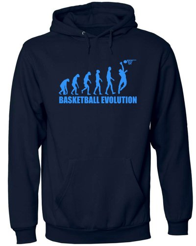 BASKETBALL EVOLUTION 558(HKP-N-Blau) Gr. M