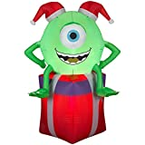 Gemmy Airblown Inflatable Christmas Disney Monsters University Mike 3.5 tall