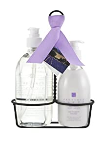 Provence Sante PS Kitchen Caddy Liquid Soap & Lotion- Lavender, 27.1 total Ounces