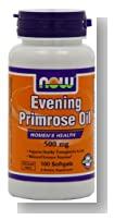 NOW Foods Evening Primrose Oil 500mg, 100 Softgels,