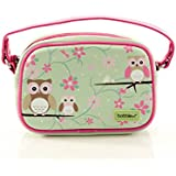 Bobble Art Small Purse With Detachable Strap Owl