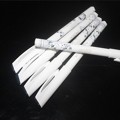 LWW Chino ancientry Porcelana Diseño Negro Tinta Gel Pen