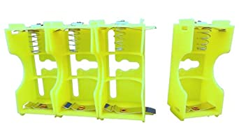 Ajax Scientific Battery Holder with Series and Parallel Connection, 1x