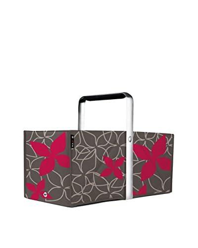 WMF Cesto Spesa  Ripiegabile  Pickup Mini Flower Red