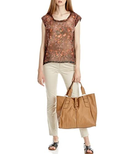 Mango Blusa Marrack [Marrone]
