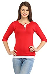 Cation Womem Red Top