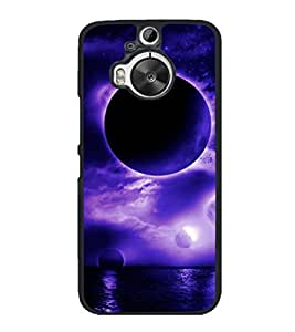printtech Planets sky Back Case Cover for HTC One M9+
