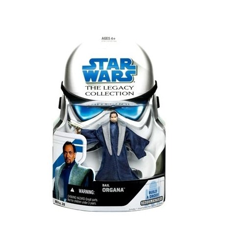 Star Wars Clone Wars Legacy Collection Build-A-Droid Factory Action Figure BD No. 26 Bail Organa
