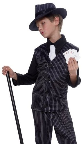 Gangster Boy Kids Costume