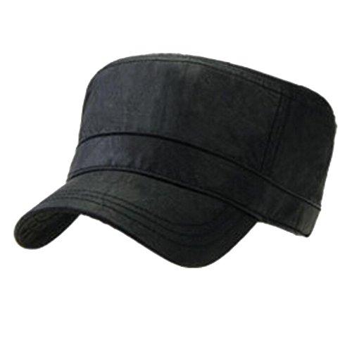uomo-autunno-e-inverno-piatto-cappello-superiore-in-cotone-twill-impermeabile-rivestimento-ecopelle-