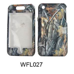 Apple iPhone 1G/2G Camo/Camouflage Hunter Series w/ Big branch Hard Case/Cover/Faceplate/Snap On/Housing/Protector