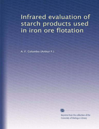 Infrared evaluation of starch products used in iron ore flotation PDF
