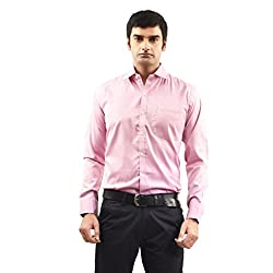 Sttoffa Solid Color Polycotton Formal Mens Wear Shirt