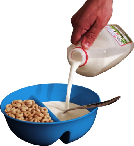 Anti-Soggy Cereal Bowl From Just Solutions! - Blue