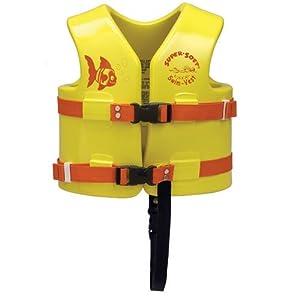 Texas Rec Supersoft Swim Life Vest Medium 26-29in. - Yellow by Texas Rec