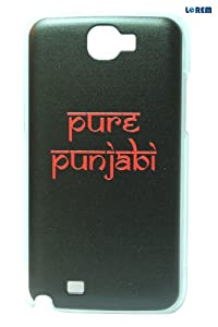 Lorem Back Cover For Samsung Galaxy Note 2 N7100 (U11715) available at Amazon for Rs.175