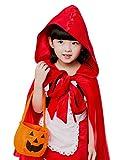 Camelopardalisハロウィン子供用赤ずきんコスプレ仮装衣装女の子パーティグッズハロウィーンコスチューム(140サイズ)