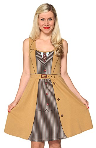 Doctor Who Her Universe David Tennant Tenth Doctor Costume Dress Size: XX-Large (Doctor Who Dalek Merchandise compare prices)