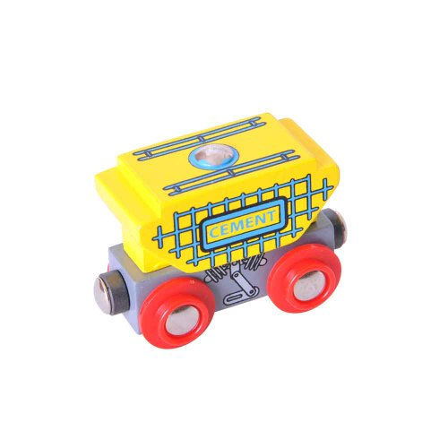 Bigjigs Rail BJT401 Cement Wagon
