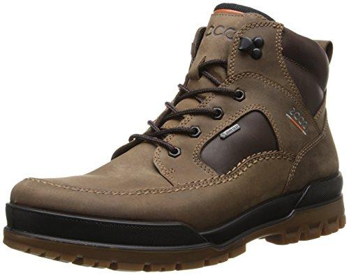 Men's ECCO 'Track VI' Waterproof Moc Toe Boot Coffee 8-8.5US