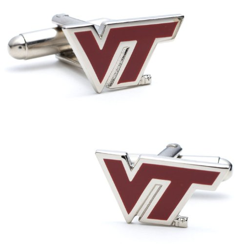NCAA Officially Licensed Silver Cufflinks