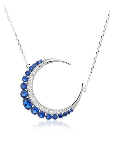 Ariadna & Alba Plata Collar Moon plata de ley 925 milésimas