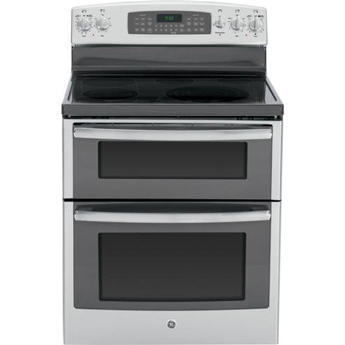 6.6 cu. ft. Double-Oven Capacity - 5 Heating Elements - Convection Oven - Expandable Bridge Zone - Fast Preheat