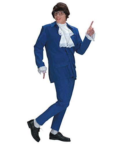Austin Powers Costume Deluxe 1960 1970 International Man of Mystery