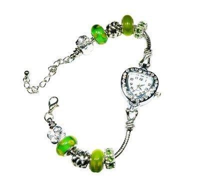 Hidden Gems (WRB08) - Pandora Style Watch Bracelet