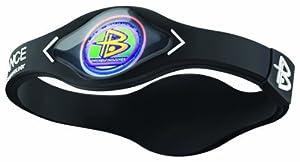 Power Balance / GWSA09BK00WTLP Bracelet silicone Noir/Blanc M