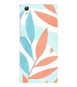 EPICCASE Leaf Mobile Back Case Cover For Vivo Y51 (Designer Case)