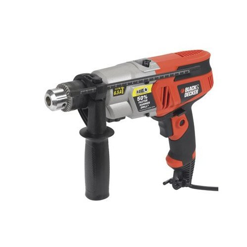 Black & Decker DR650 6.5 Amp 1/2-Inch Dual Range Hammerdrill