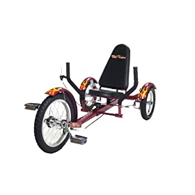 Triton Ultimate 3-Wheeled Cruiser - Red