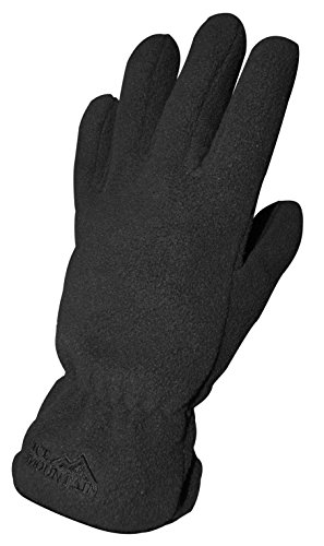Ice Mountain Womens Toasty Fleece Gloves - Black