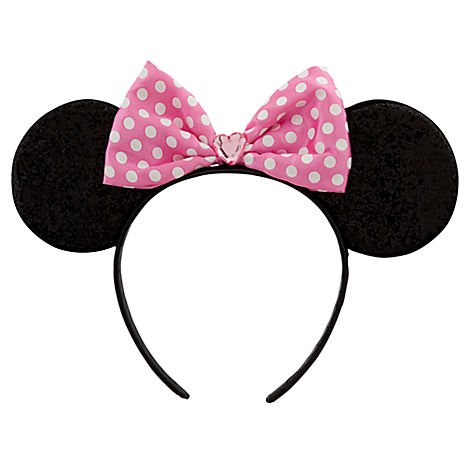 Disney Pink Minnie Mouse Headband