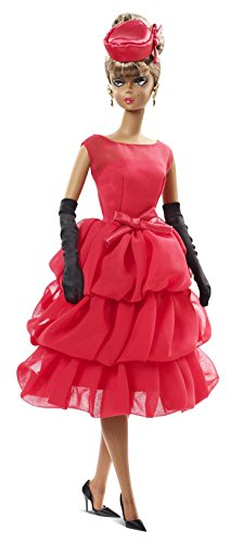 Barbie-Mueca-Collector-Glamour-color-rojo-Mattel-CGT26