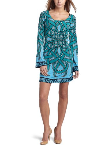 Nicole Miller Women's Printed Dress