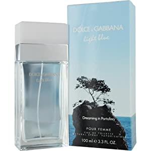 Dolce & Gabbana Light Blue Dreaming in Portofino Women Eau De Toilette Spray, 3.3 Ounce