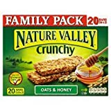 Nature Valley Crunchy Granola Bars Oats & Honey 12 X 42G