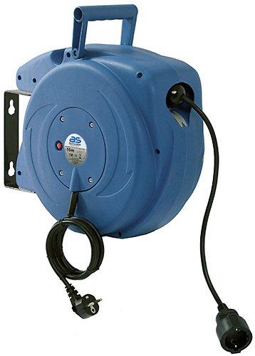 as-Schwabe-12611-Automatik-Kabeltrommel-mit-15m-Kabel-zur-Wandmontage-automatischer-Kabelaufroller-mit-Einzug-blau