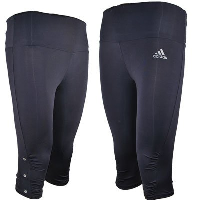 Adidas Essential Capri Shorts Navy Blue Ladies