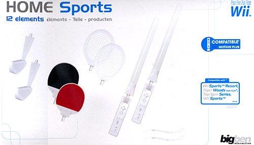 WII Pack Sport Kit Da 12 Pezzi Bigben