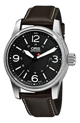 Oris Swiss Hunter Team PS Edition Automatic Grey Dial Stainless Steel Mens Watch 733-7629-4063LS from Oris