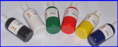 6 X 150ml Textile Paint Fab150/6/a 5017741003011 By Scola
