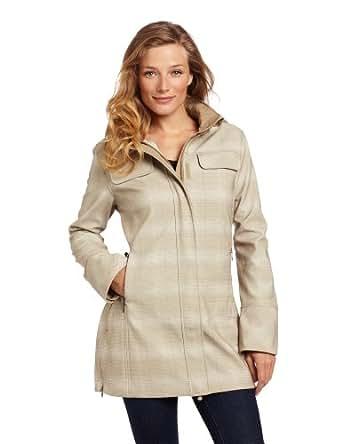 Woolrich Women's Summit Softshell Commuter Jacket, Stone, X-Small